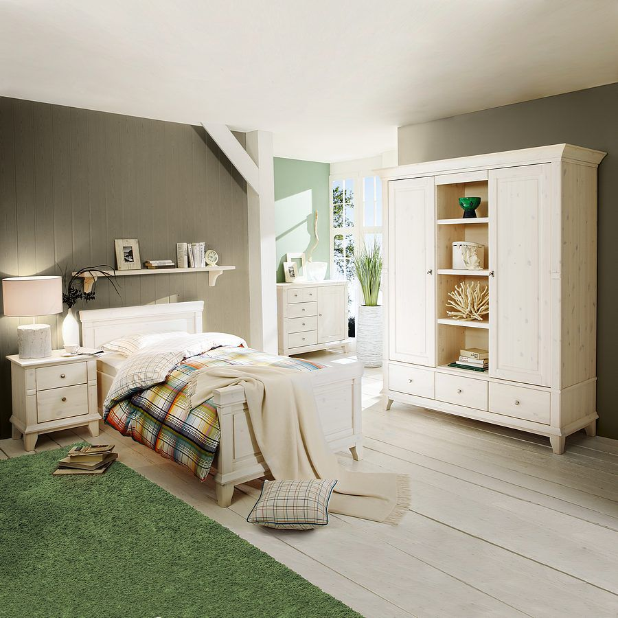 bettanlage georgia klein wei bett 90 x 200 cm loddenkemper g nstig. Black Bedroom Furniture Sets. Home Design Ideas