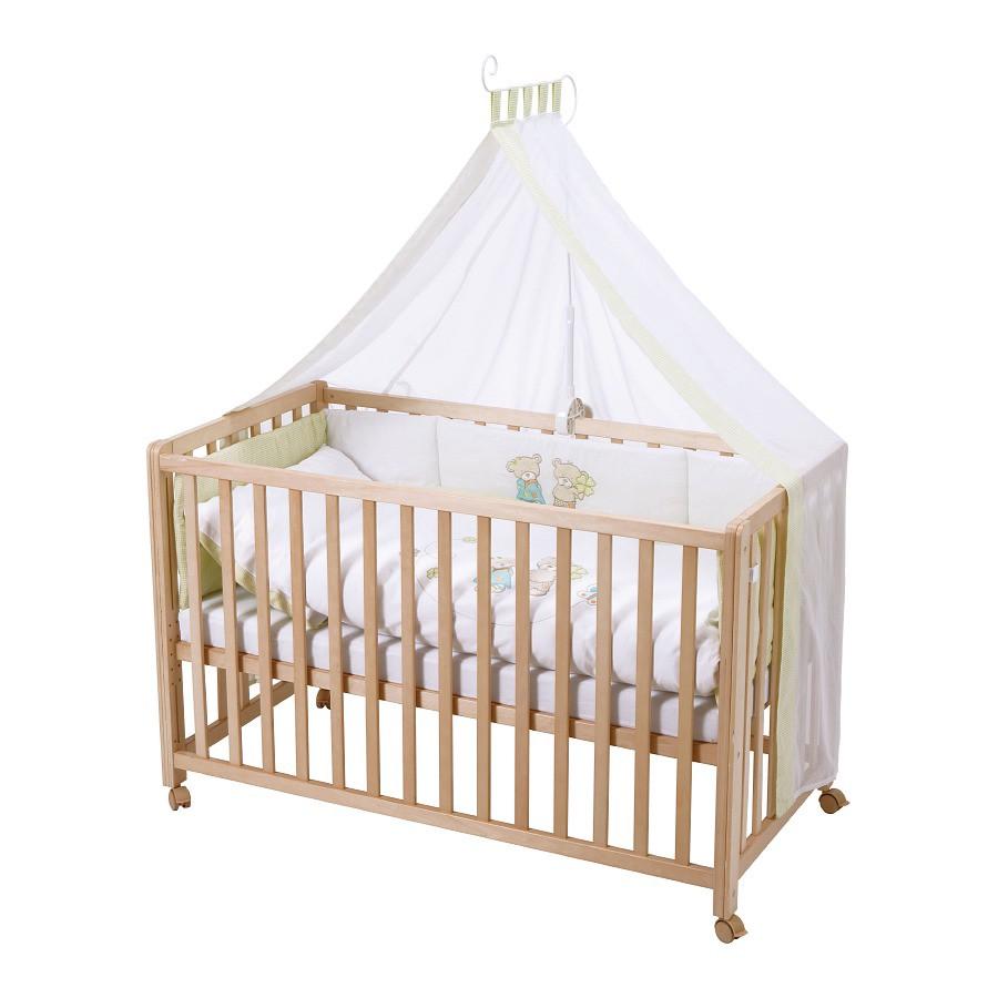 Kinderbett Room Bed Glücksbringer - Buche teilmassiv - Gelb, Roba