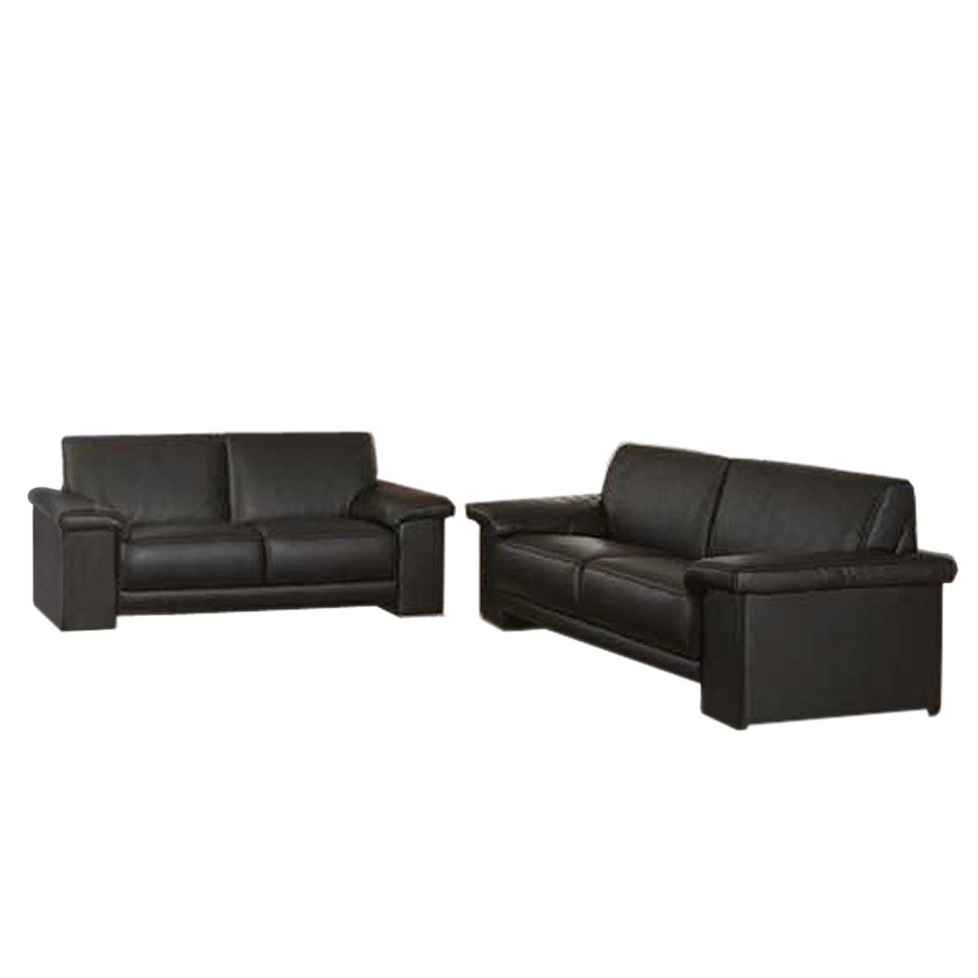 Sofa Goodyear Set – Dunkelbraun, Home Design günstig