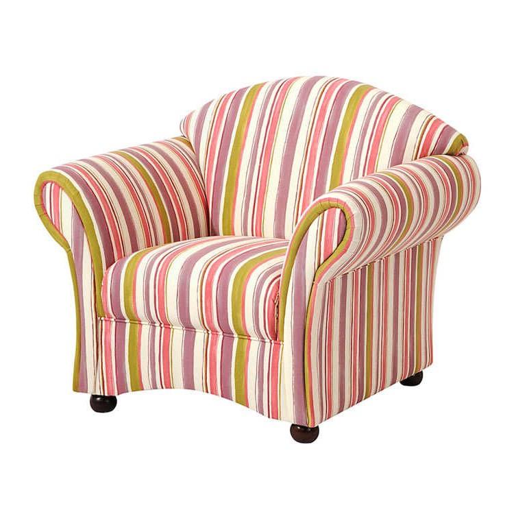 ohrensessel g teborg webstoff orange beige gestreift max winzer bestellen. Black Bedroom Furniture Sets. Home Design Ideas