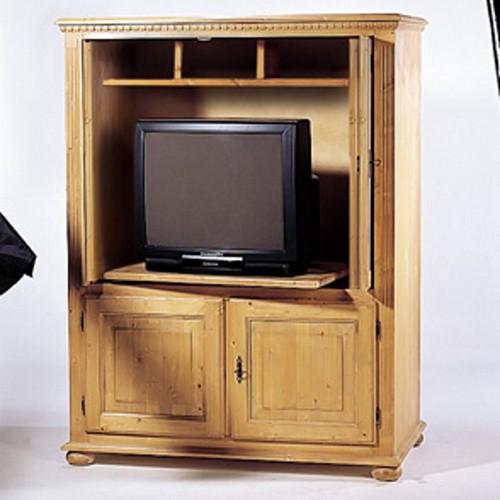 fernsehschrank vincenza fichte massiv gradel g nstig online kaufen. Black Bedroom Furniture Sets. Home Design Ideas