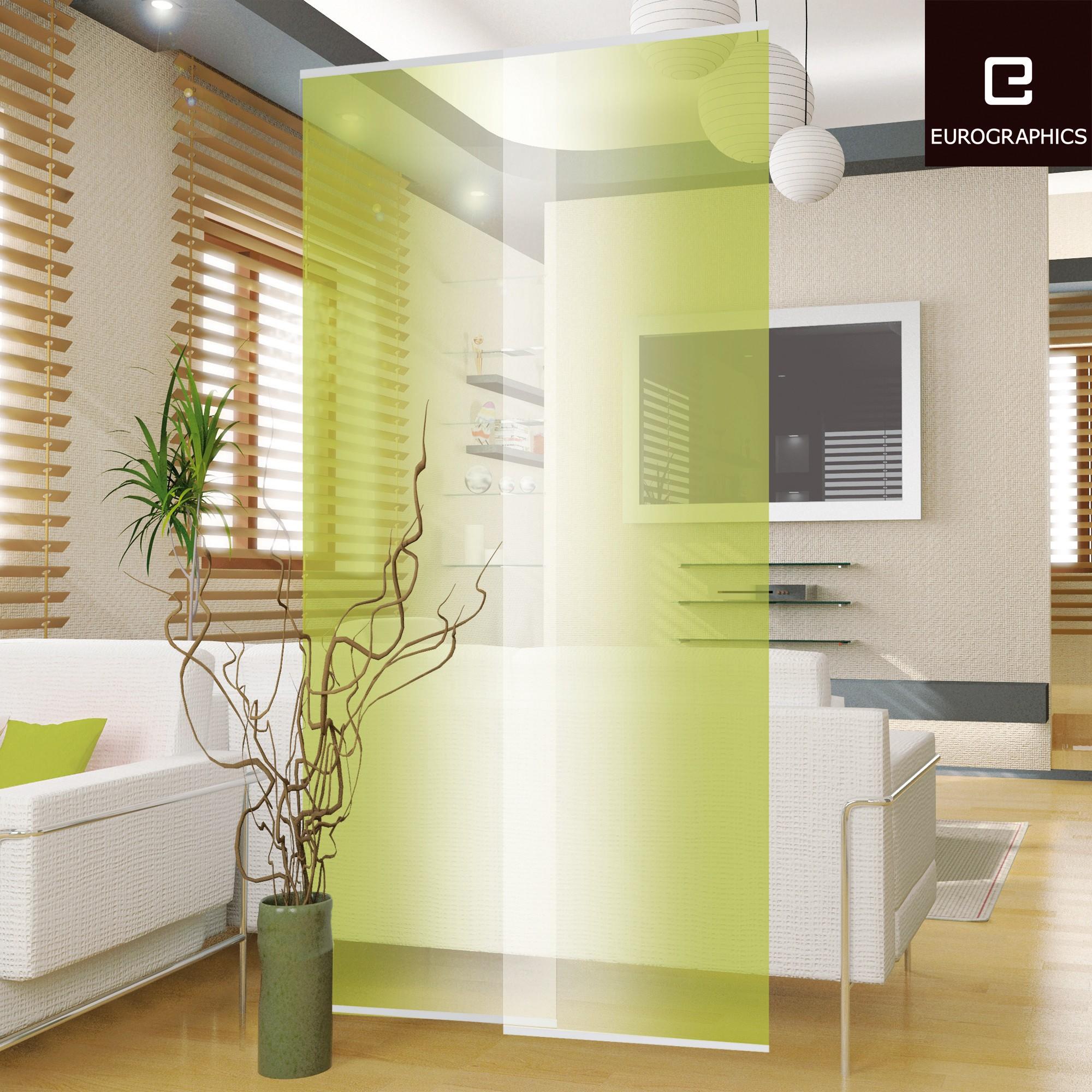 Raumteiler-Set Grasgrün
