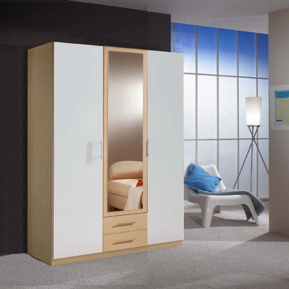 kleiderschrank liff verschiedene dekore zwei spiegel franz sische nussbaumnachbildung. Black Bedroom Furniture Sets. Home Design Ideas