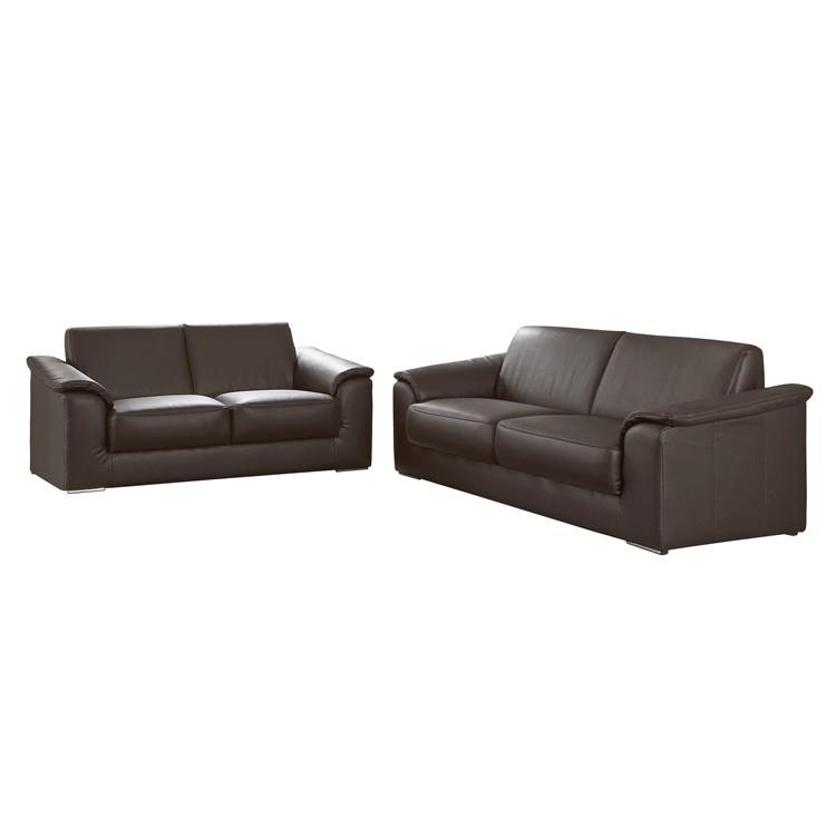 Peoria Sofa Set – Dunkelbraun, Home Design günstig kaufen