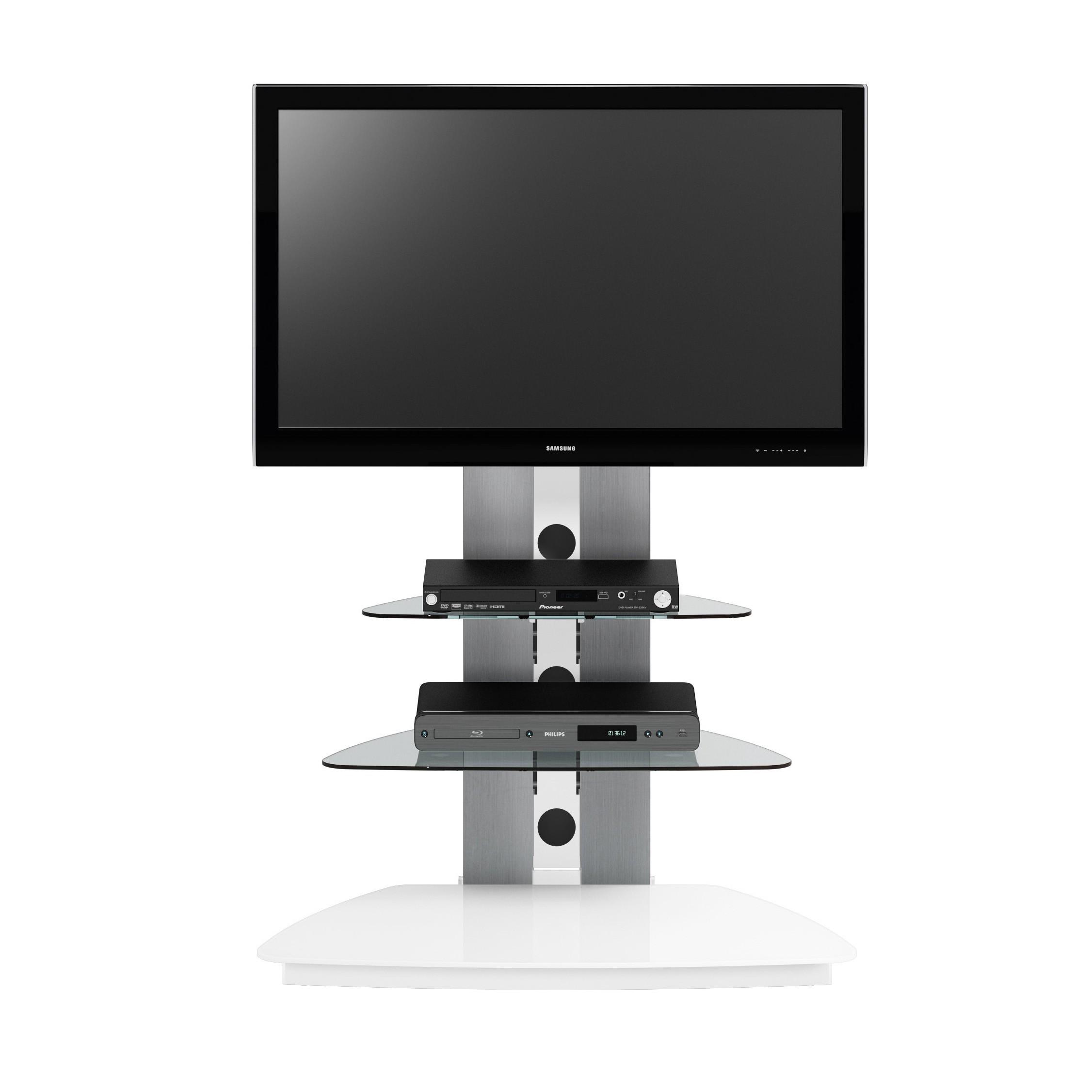 TV-Rack CU-MR 90 - Hochglanz Weiß, Jahnke