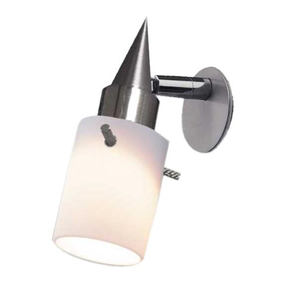 Spiegelleuchte Juanetta – Opalglas, Glasa-Line jetzt kaufen