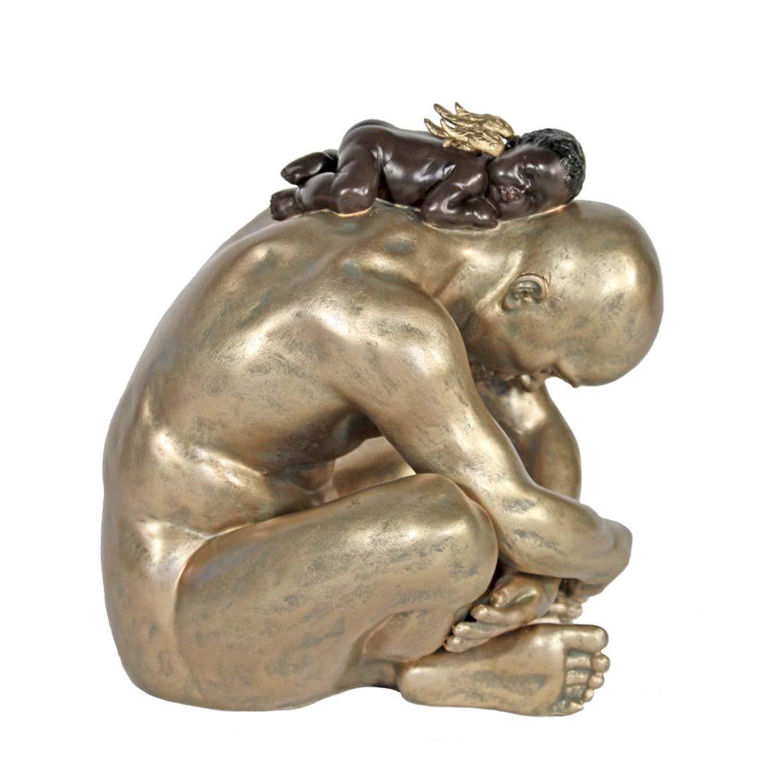 Figur Juho – Golden, Casa Collection günstig kaufen