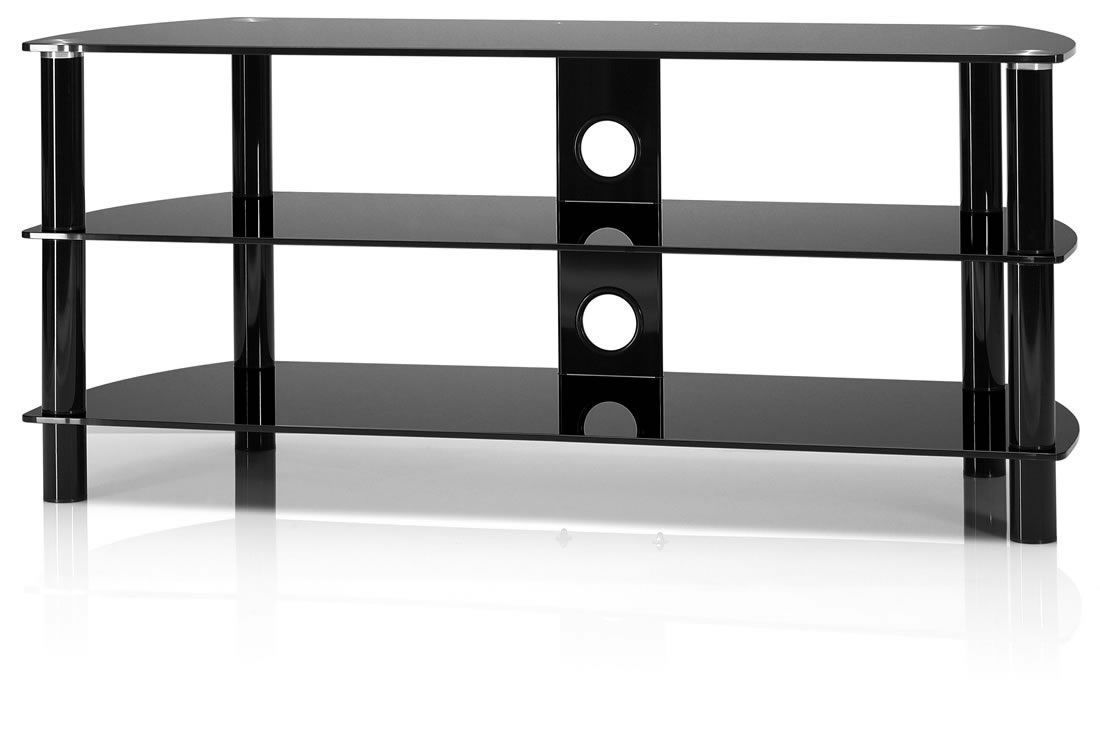 TV-Rack Just-Racks TV-Tisch JRC1201 – groß – drei Glasebenen, Just-Racks online bestellen