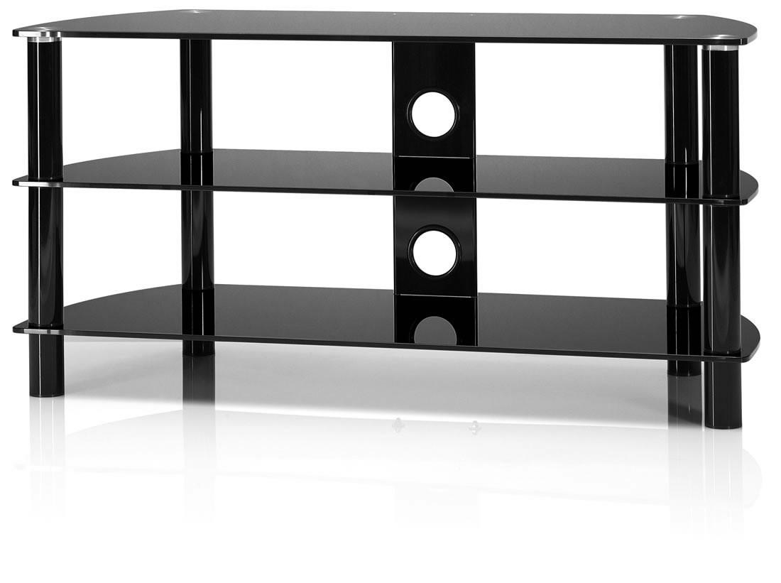Tv Rack Just Racks Tv Tisch Jrc1051 Klein Drei Glasebenen Just
