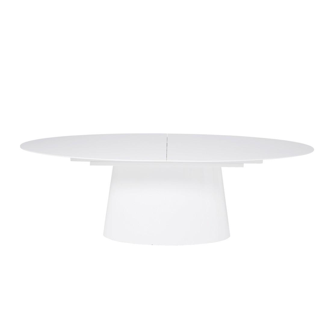 Ausziehtisch Controversia (mit Ausziehfunktion) – Hochglanz Weiß, Kare Design jetzt kaufen