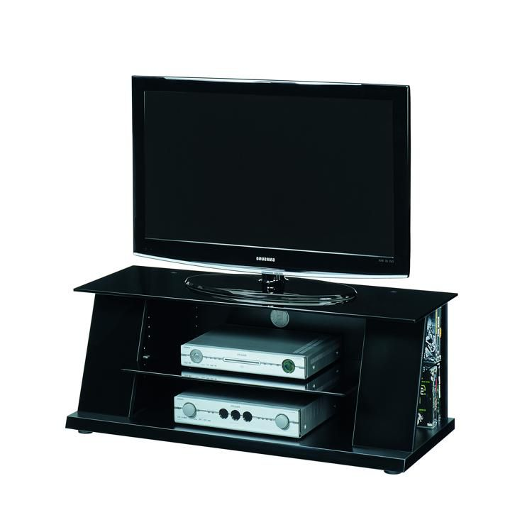 tv rack luxor 1200 sl schwarz hochglanz. Black Bedroom Furniture Sets. Home Design Ideas