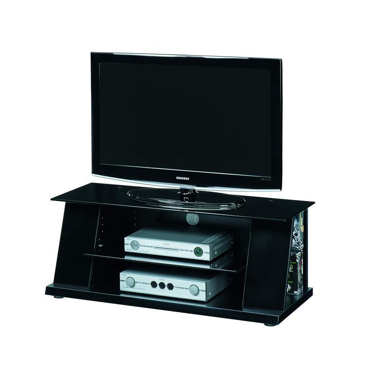 tv rack luxor 1200 sl schwarz hochglanz. Black Bedroom Furniture Sets. Home Design Ideas