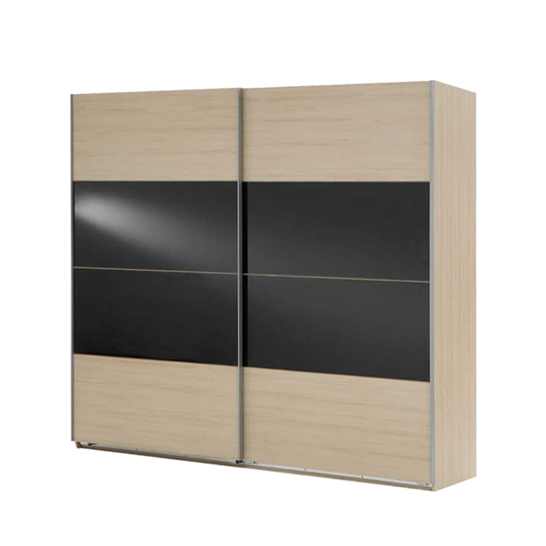 schwebet renschrank kingston ac canyon buche grauglas breite 180 cm schrank. Black Bedroom Furniture Sets. Home Design Ideas