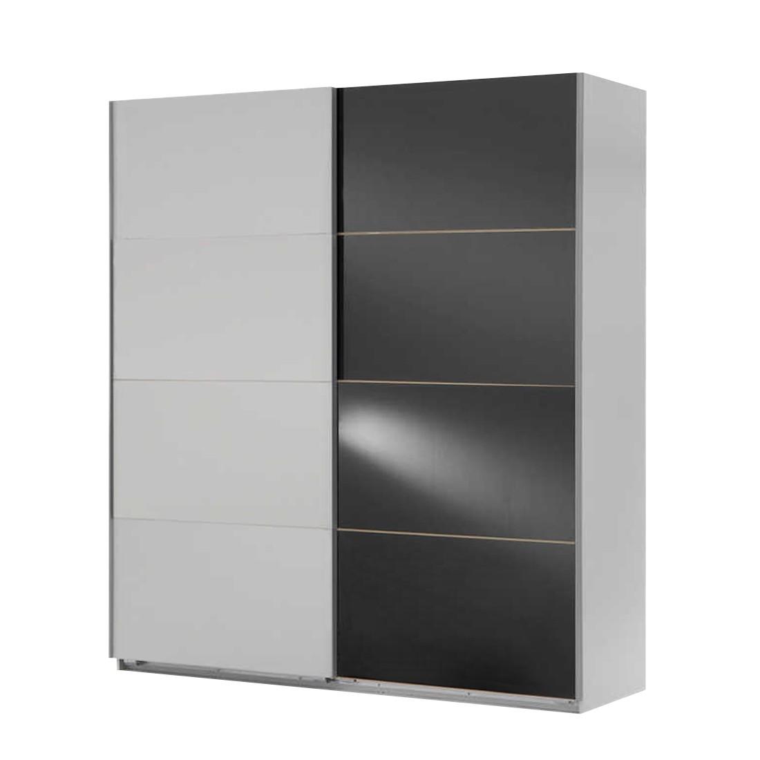 schwebet renschrank kingston c alpinwei grauglas. Black Bedroom Furniture Sets. Home Design Ideas
