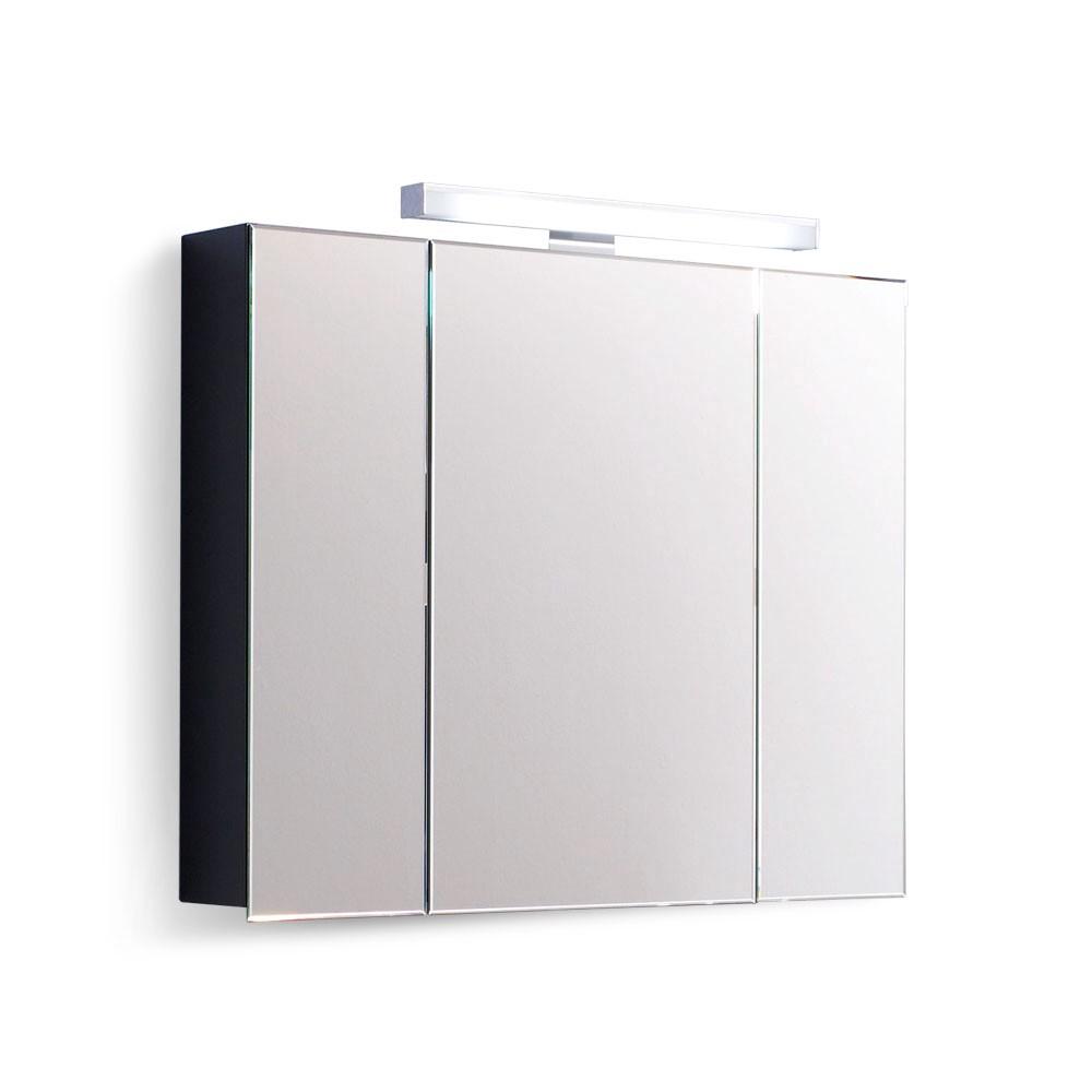 Spiegelschrank Kingston (mit Beleuchtung) – Hochglanz Weiß, Aqua Suite online kaufen