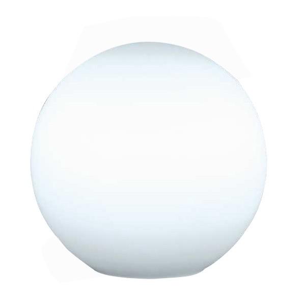 Tischleuchte - Kugel - Durchmesser: 20 cm - Opal, matt, Honsel