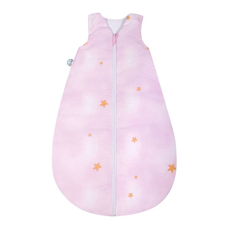 Babyschlafsack Kuschelbär – 100% Baumwolle – Rosa – Tiefe: 60 cm, Julius Zöllner kaufen