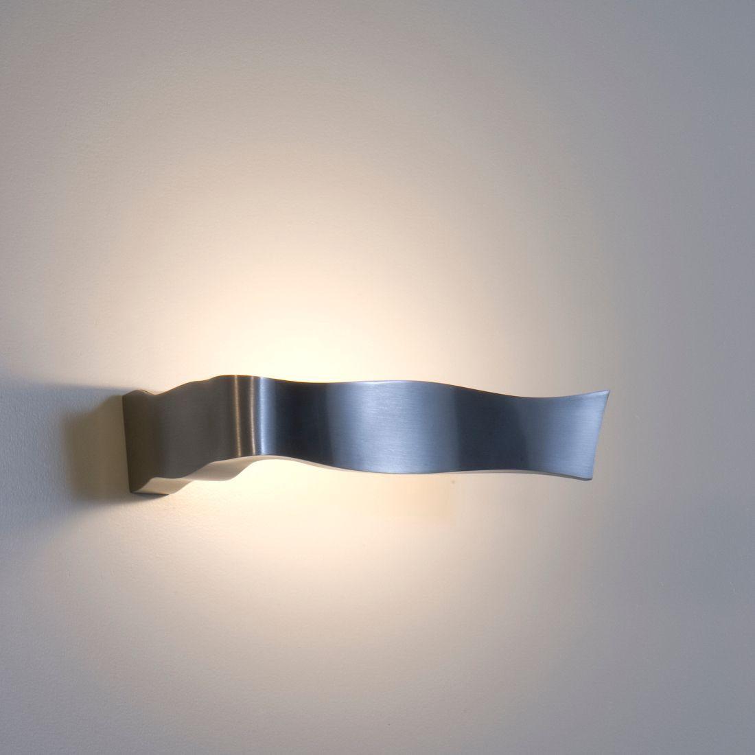 Wandleuchte Yves – Aluminium-Druckguss gebürstet, Fontana Arte jetzt kaufen