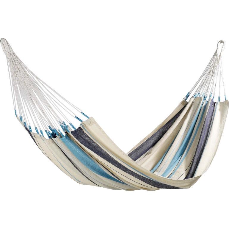 Hängematte Caribeña – Blau/Weiß, La Siesta günstig online kaufen