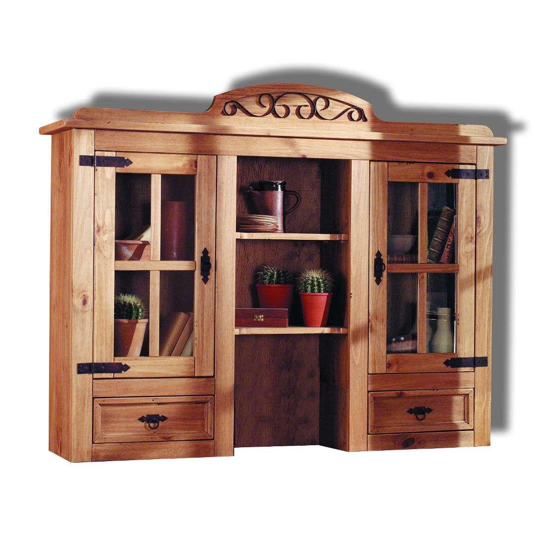 Aufsatz Zacateca III – Kiefer massiv – Antik, Landhaus Classic online bestellen