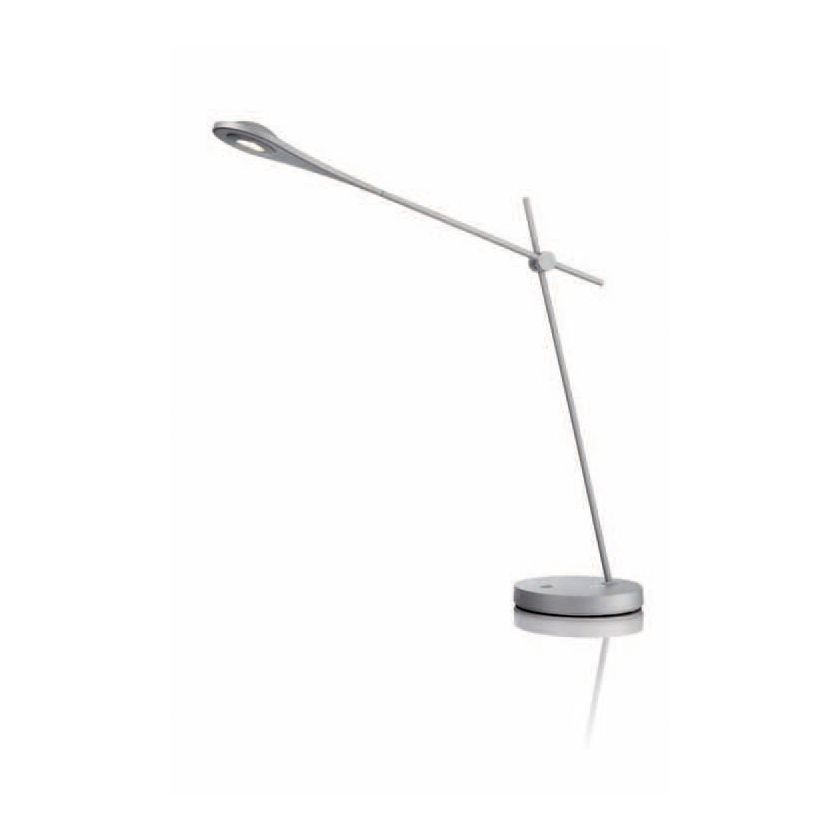 Tischleuchte Energiespar – 3-flammig – Stab – Aluminium/Matt, Philips günstig kaufen
