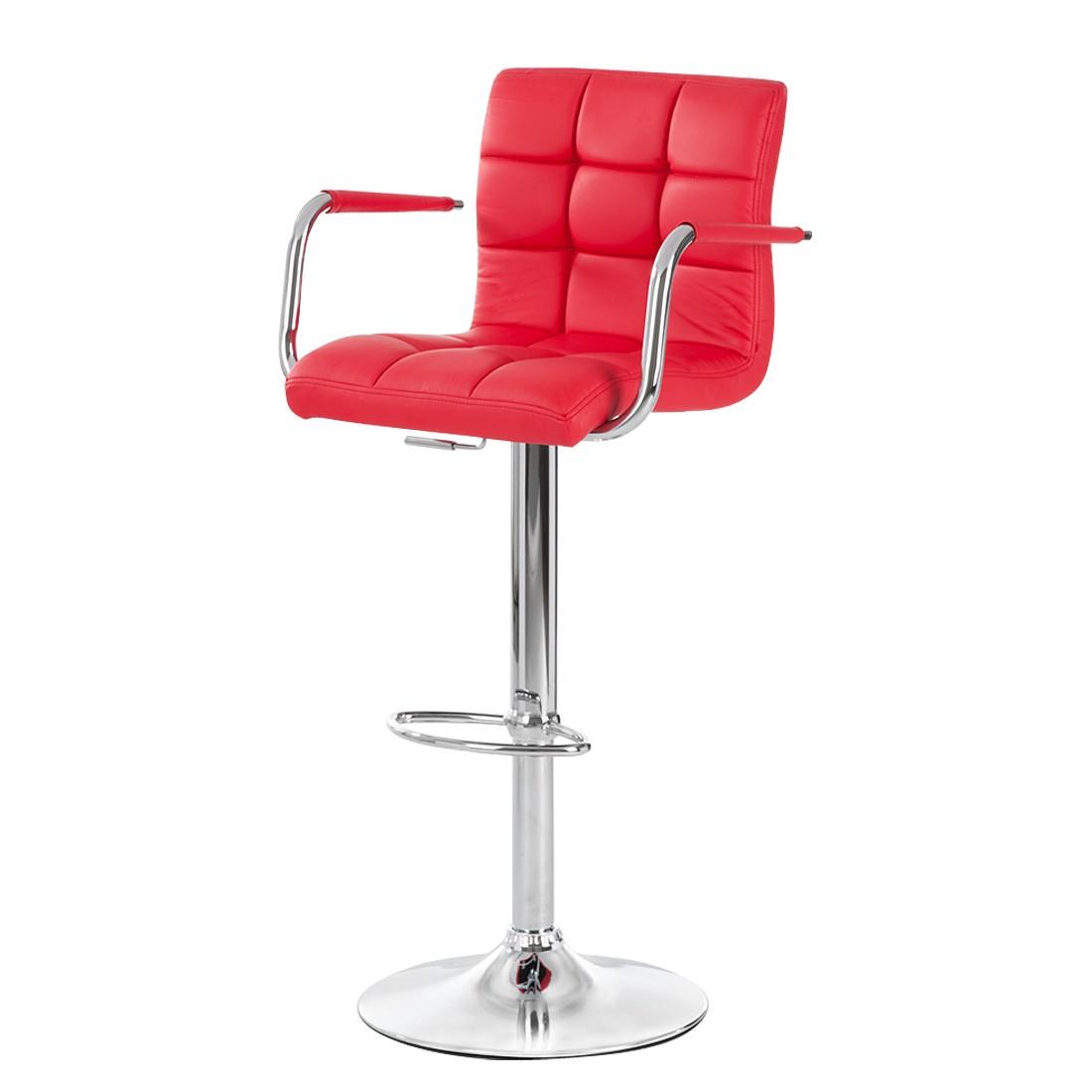 Barhocker Fitzgerald II – Kunstleder Rot, Fredriks jetzt kaufen