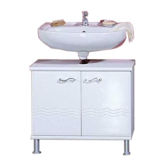 Waschbeckenunterschrank Mary - Weiß