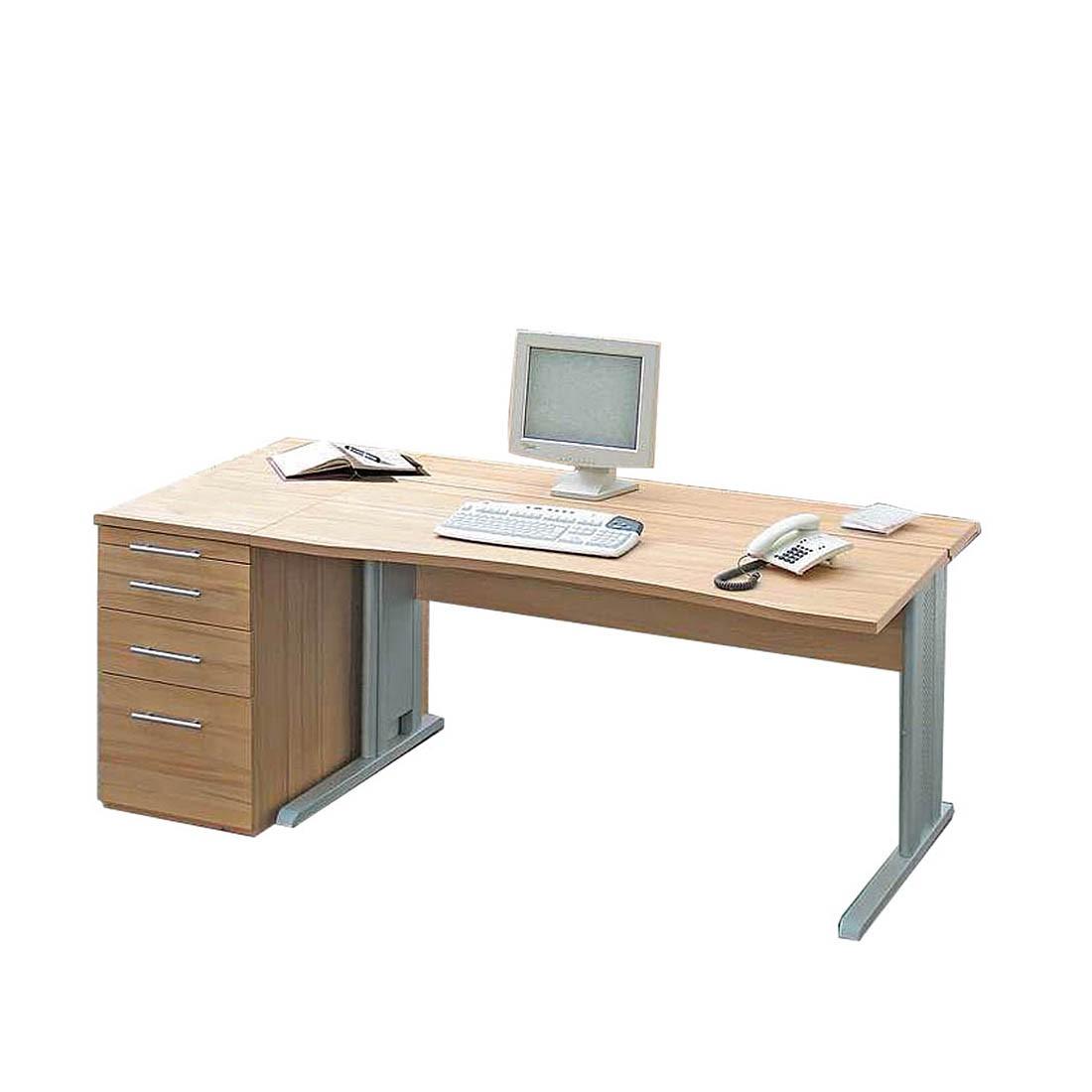 Schreibtisch medford ohne fu blende l nge 150 cm for Schreibtisch 150