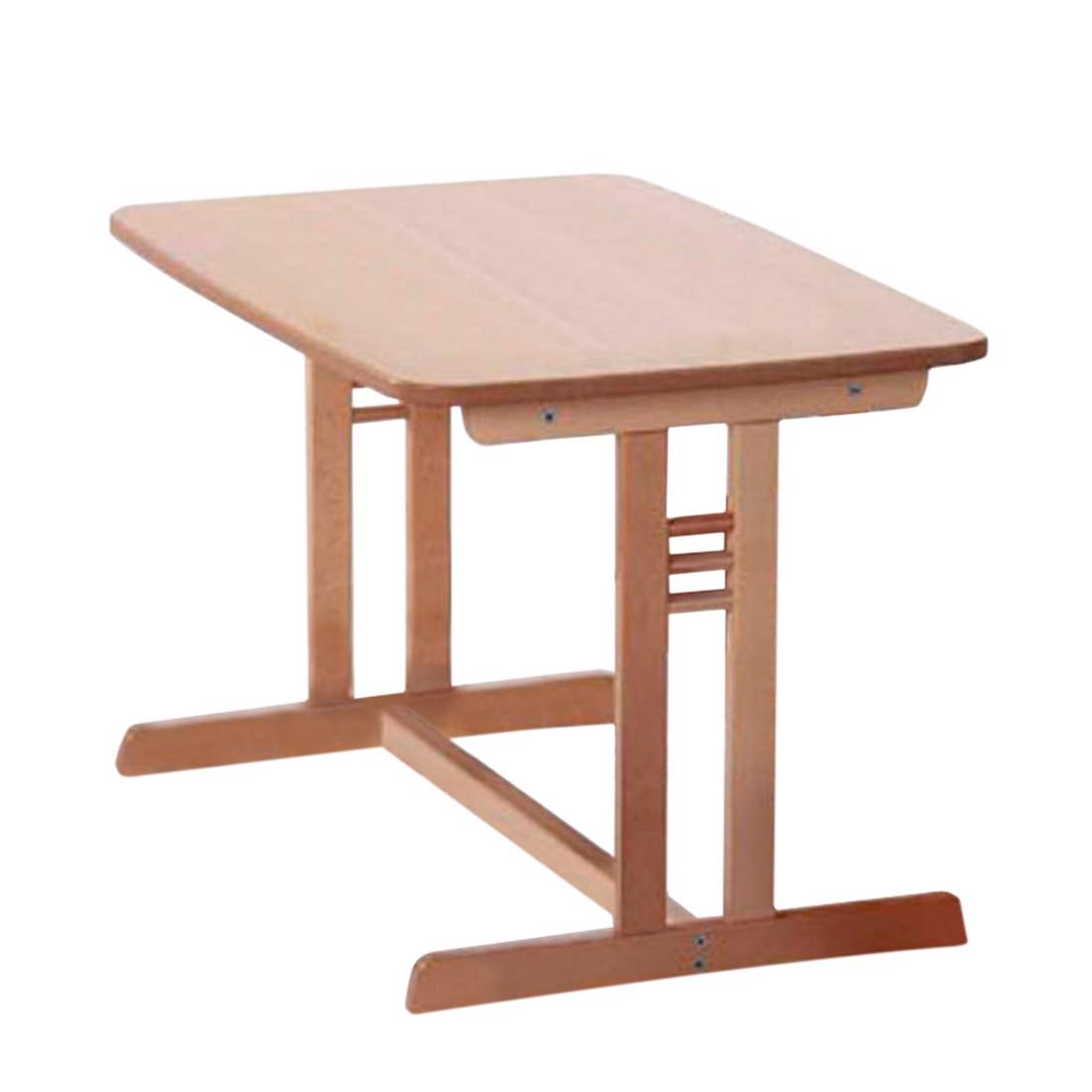 Tisch Ministar - Buche massiv - Natur, Schardt