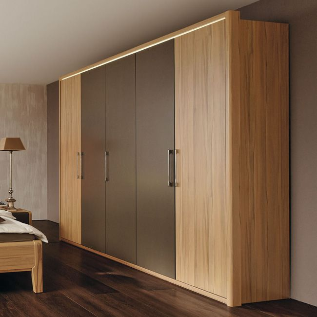 kleiderschrank la vida 250 kernbuche cappuccino. Black Bedroom Furniture Sets. Home Design Ideas