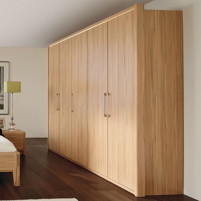 kleiderschrank la vida 250 kernbuche. Black Bedroom Furniture Sets. Home Design Ideas