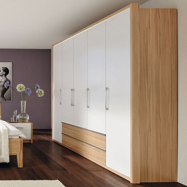 dreht renschrank la vida 250 mit schubladen wei. Black Bedroom Furniture Sets. Home Design Ideas