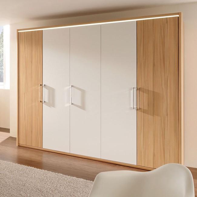 kleiderschrank la vida 250 wei schrank. Black Bedroom Furniture Sets. Home Design Ideas