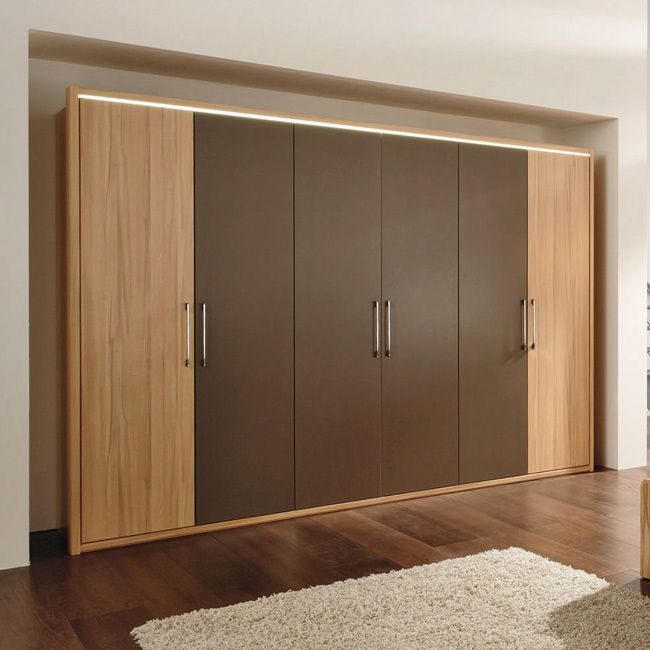 kleiderschrank la vida 300 kernbuche cappuccino. Black Bedroom Furniture Sets. Home Design Ideas