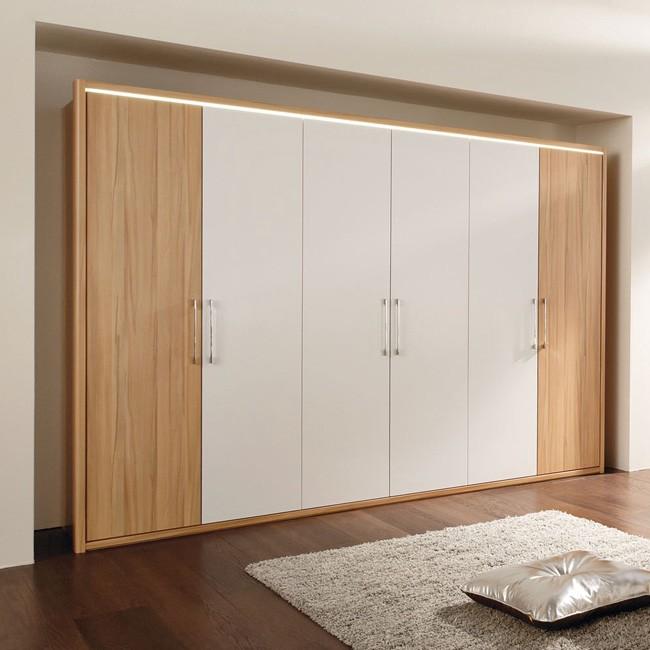 kleiderschrank la vida 300 wei kernbuche. Black Bedroom Furniture Sets. Home Design Ideas