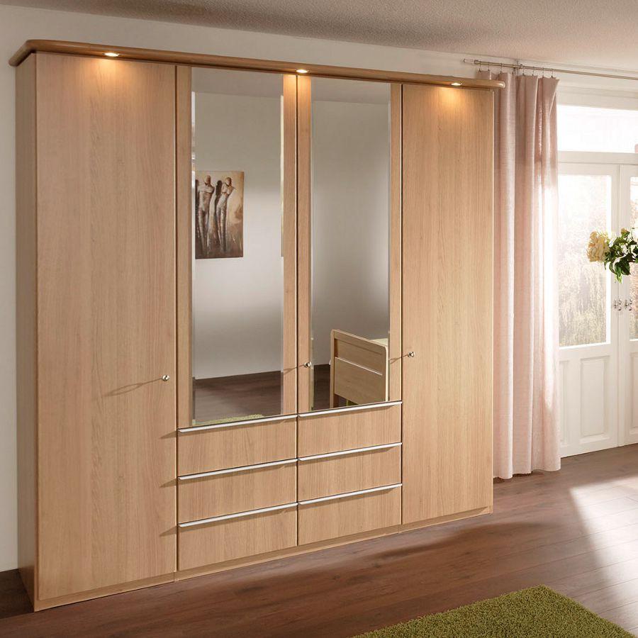 kleiderschrank saphir 201 wintereiche nolte delbr ck g nstig online kaufen. Black Bedroom Furniture Sets. Home Design Ideas