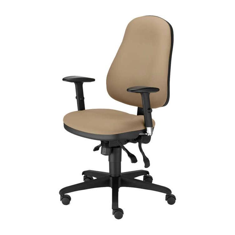 b rodrehstuhl offix webstoff braun nowy styl jetzt. Black Bedroom Furniture Sets. Home Design Ideas