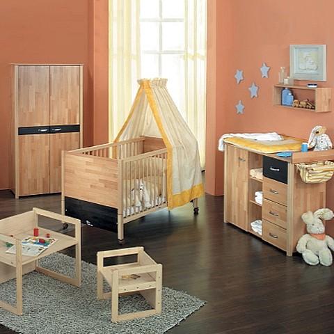 oliver komplettset 3tlg babybett. Black Bedroom Furniture Sets. Home Design Ideas