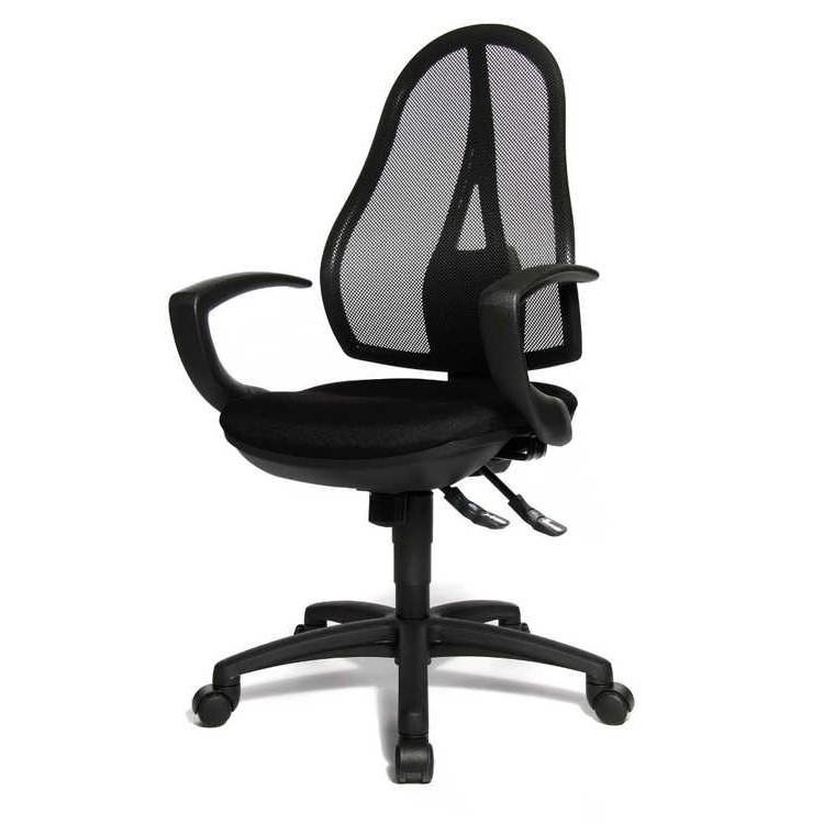bureaustoel point 91 zwart kopen online internetwinkel. Black Bedroom Furniture Sets. Home Design Ideas