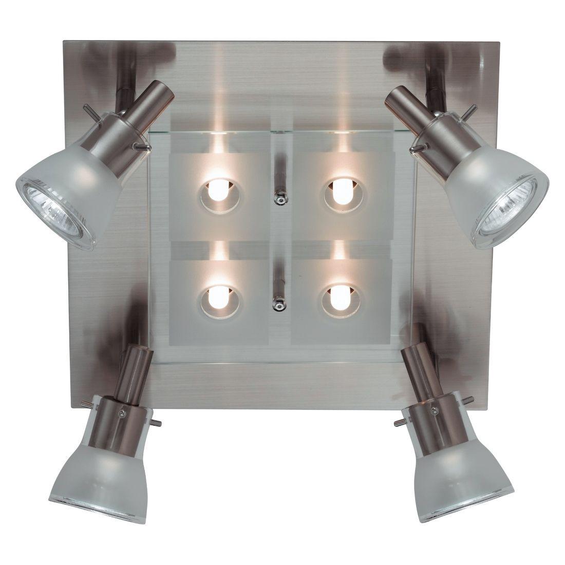 EEK C, Deckenleuchte Quaro - 8-flammig,