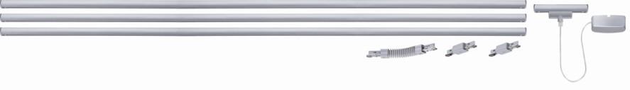 Haengeleuchte-Pendelleuchte Hardwick 1 - Chrom matt, Paulmann