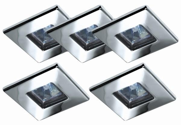 Deckenleuchte Window Rock I (5 x 20W) – Eisen, gebürstet, Paulmann günstig bestellen