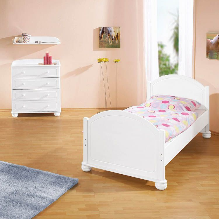 Clara jugendzimmer set 3tlg bett kommode - Jugendzimmer set gunstig ...