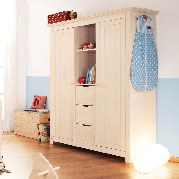 kleiderschrank finja 2 t rig mit mittelkonsole. Black Bedroom Furniture Sets. Home Design Ideas