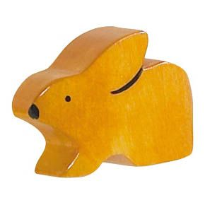 Kindermöbelknopf - Hase