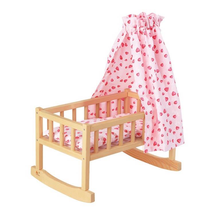 pinolino puppenwiege jona preisvergleich preis ab 36 89 spielwaren. Black Bedroom Furniture Sets. Home Design Ideas