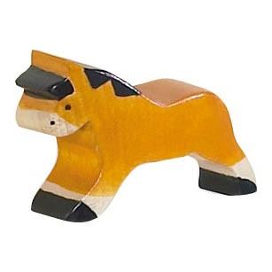 Kindermöbelknopf - Pferd