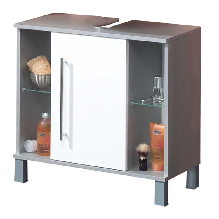Waschbeckenunterschrank Ponza- Weiß