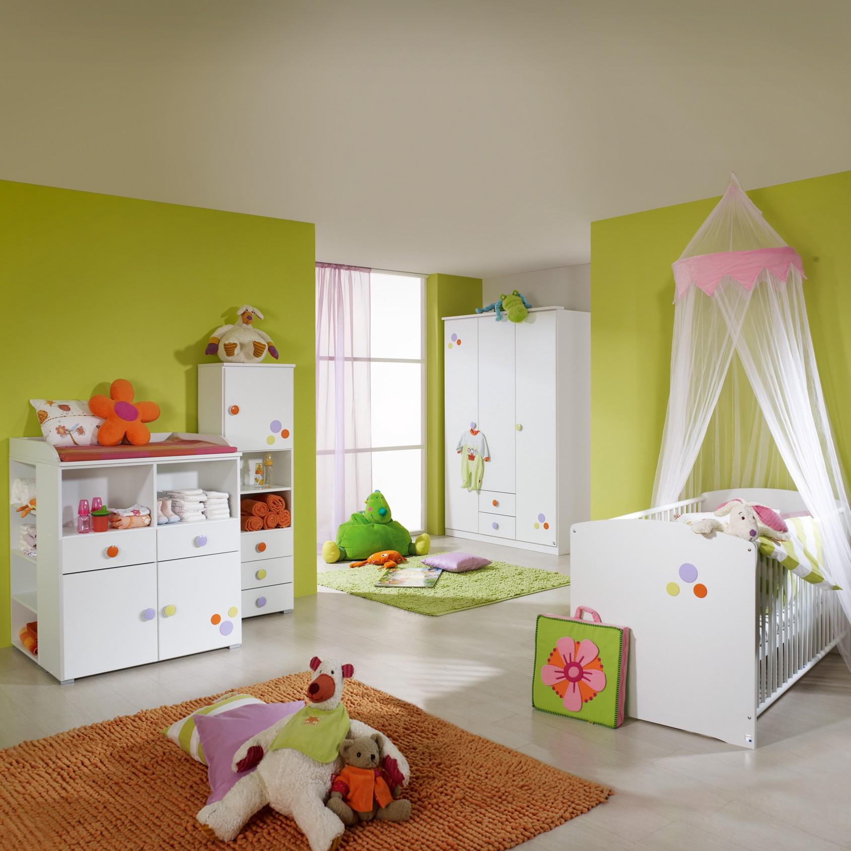 sparset benita 2 teilig babybett wickelkommode alpinwei. Black Bedroom Furniture Sets. Home Design Ideas