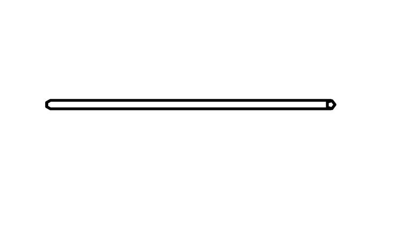 90er Kleiderstange Quadra